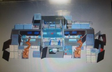 CNC 5 Axis processing plant / Sold